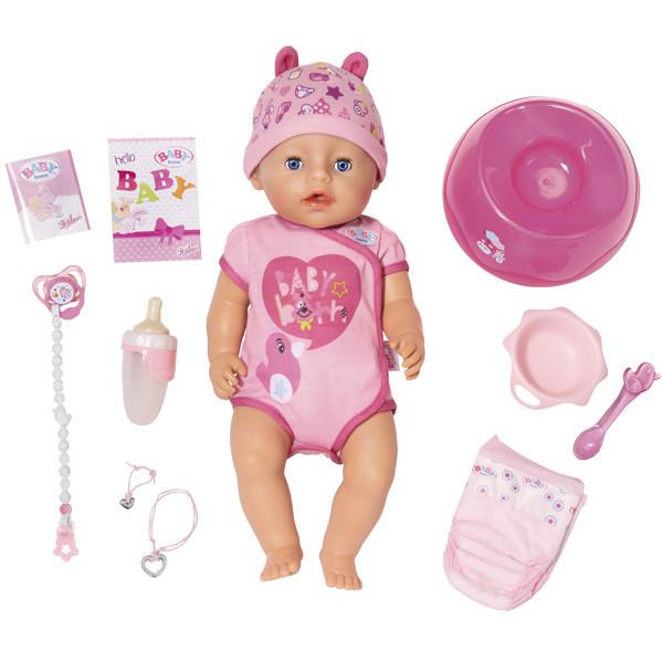 Baby born Интерактивная кукла Бэби бон, 43 см
