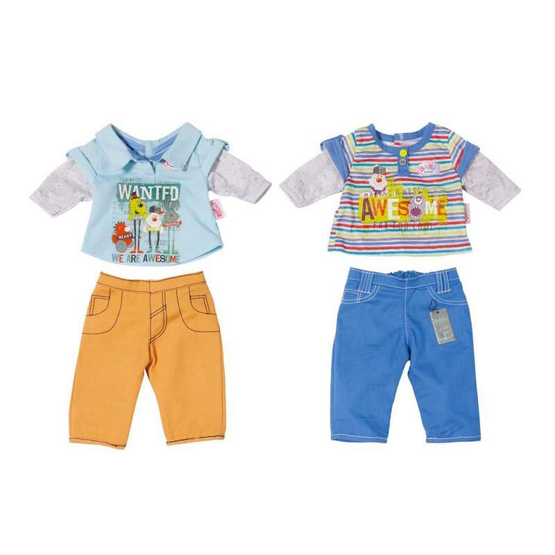 Baby Born Набор одежды для кукол Беби Бон - Штаны и кофта