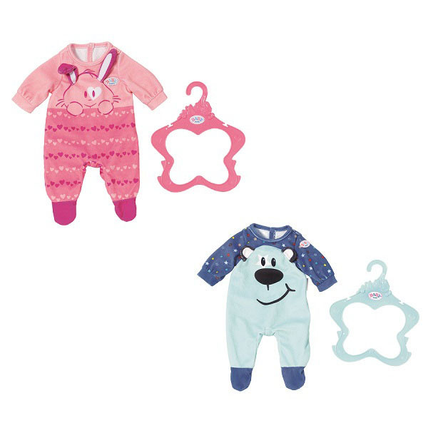 Baby Born Одежда для кукол Беби Бон - Комбинезончики в ассортименте