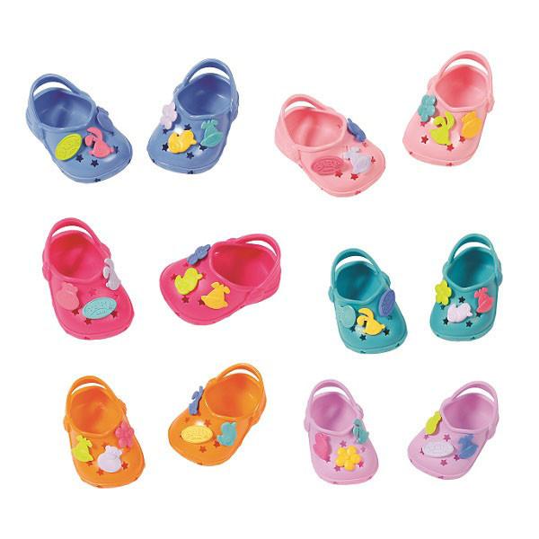 Baby Born Одежда для кукол Беби Бон - Сандали фантазийные, в ассортименте