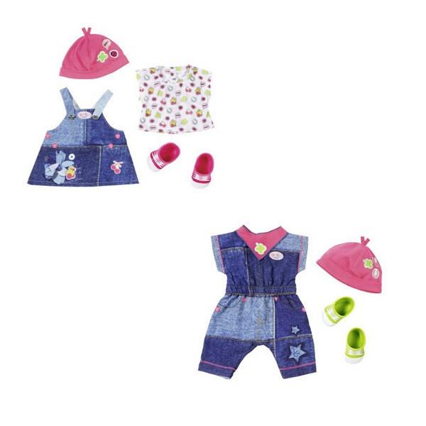 Baby Born Одежда для кукол Бэби Бон - Джинсовая коллекция, в ассортименте
