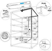 Инкубатор (на 160-180 яиц) с увлажнителем, с автоматическими лотками переворота яиц и выводными лотком, фото 3