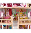 """Edufun Игровой набор """"Деревянный дом для кукол"""" с комплектом мебели 90 см, фото 4"""