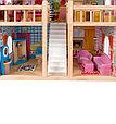 """Edufun Игровой набор """"Деревянный дом для кукол"""" с комплектом мебели 90 см, фото 5"""