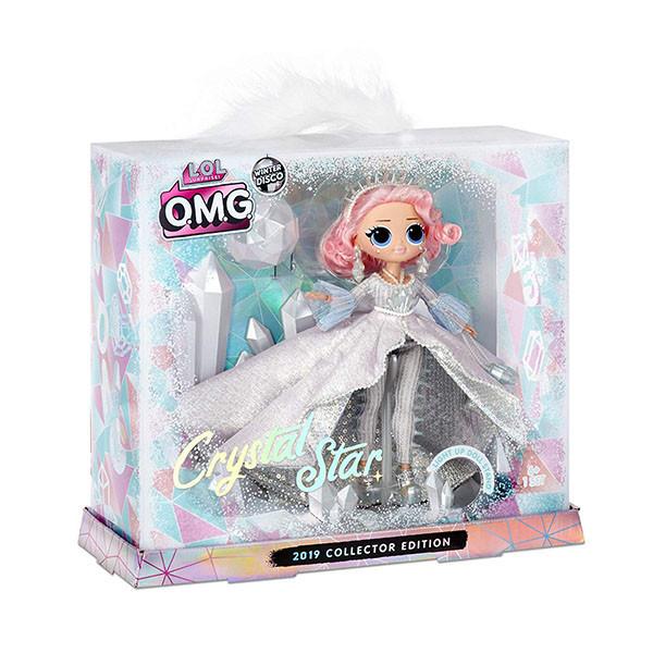 LOL OMG Зимнее диско Кукла ЛОЛ Кристальная звезда Crystal Star