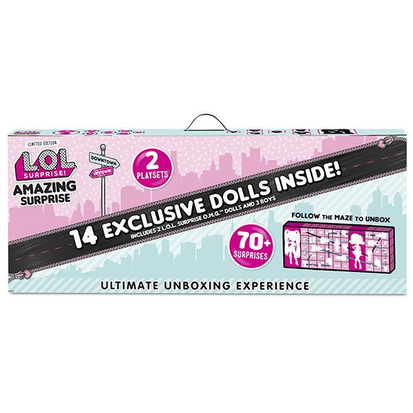 """LOL Surprise - Большой игровой набор """"Удивительный Сюрприз ЛОЛ"""", 14 эксклюзивных кукол (Оригинал)"""