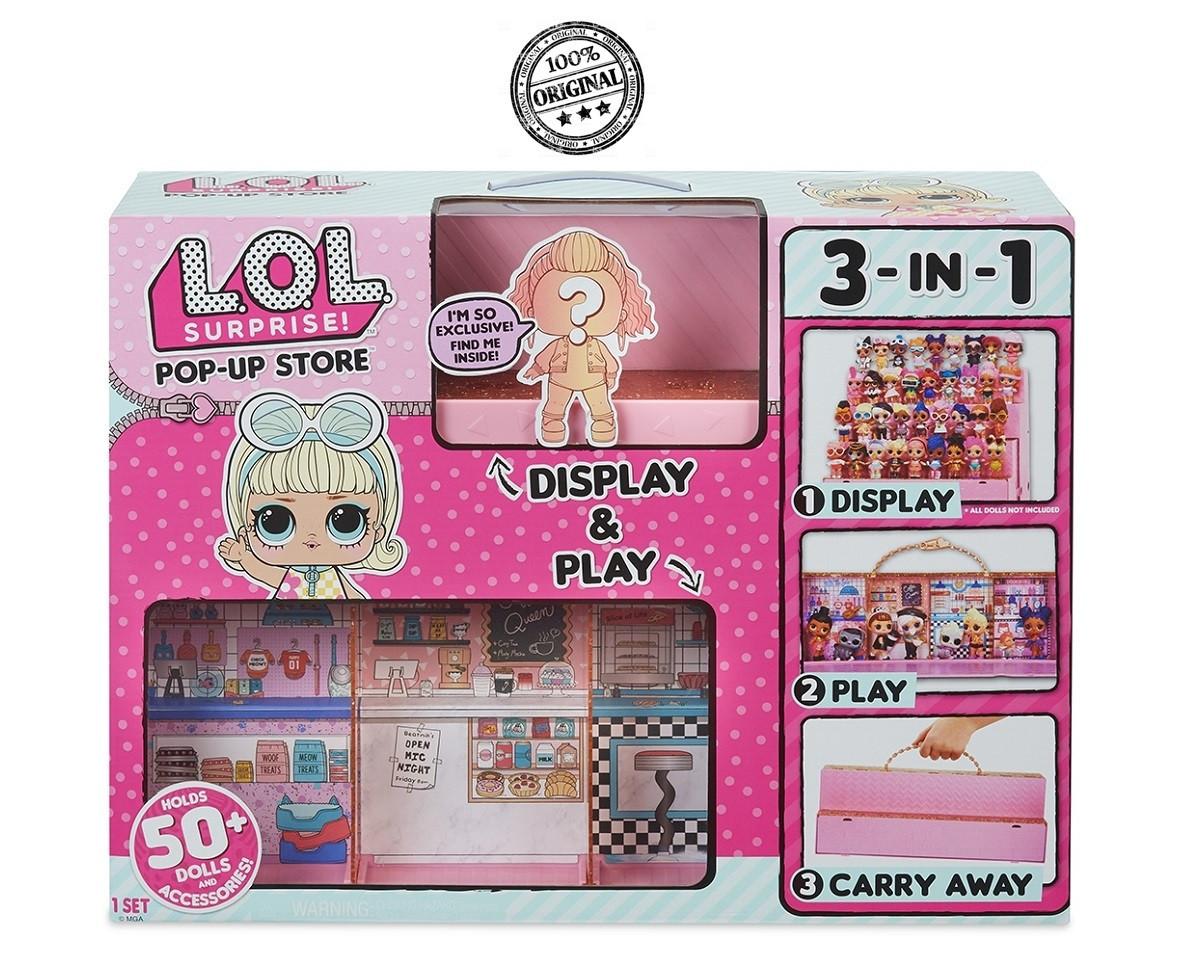 """LOL Surprise - Игровой набор """"Модный подиум 3-в-1"""" с эксклюзивной куклой (Оригинал)"""