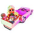 LOL Surprise - Игровой набор ЛОЛ Автомобиль кабриолет с бассейном-джакузи, фото 4