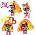 LOL Surprise - Кукла ЛОЛ со сменными париками, HairVibes (Оригинал), фото 7