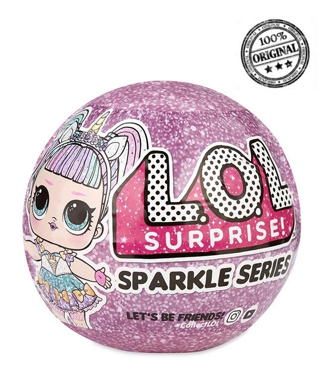 LOL Surprise - Кукла ЛОЛ Сюрприз в шарике, Гламурная Сверкающая (Оригинал)