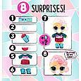 "LOL Surprise - Кукла Сюрприз в шарике ""Зимнее диско"", Блестящая Glitter Globe Mystery (Оригинал), фото 6"