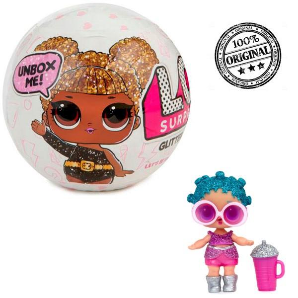 LOL Surprise - Кукла Сюрприз в шарике, Блестящая Glitter (Оригинал)