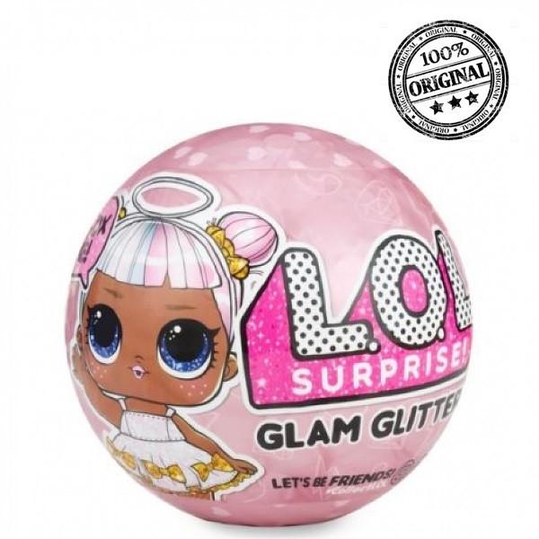 LOL Surprise - Кукла Сюрприз в шарике, Блестящая Перламутровая Glam Glitter (Оригинал)