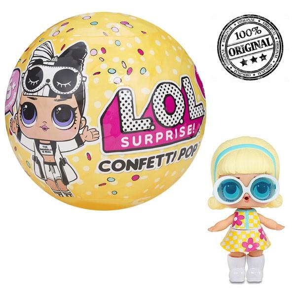LOL Surprise - Кукла Сюрприз в шарике, Конфетти Confetti, 2 волна (Оригинал)
