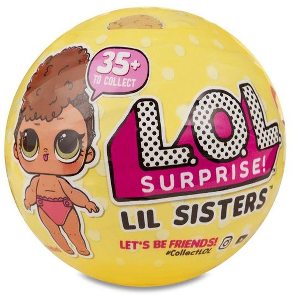 LOL Surprise - Маленькая сестренка в шарике, LIL Sisters, 3 серия, 1 волна (Оригинал), ЛОЛ Сюрприз