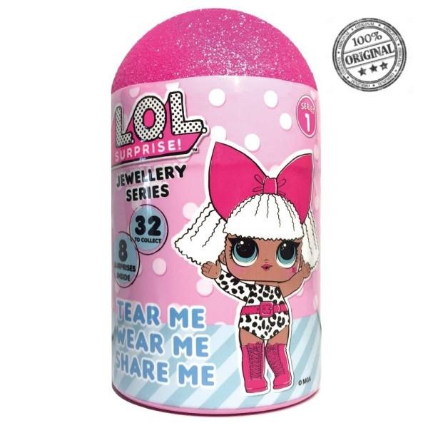 LOL Surprise - Набор украшений с часами для девочки (Оригинал), ЛОЛ Сюрприз