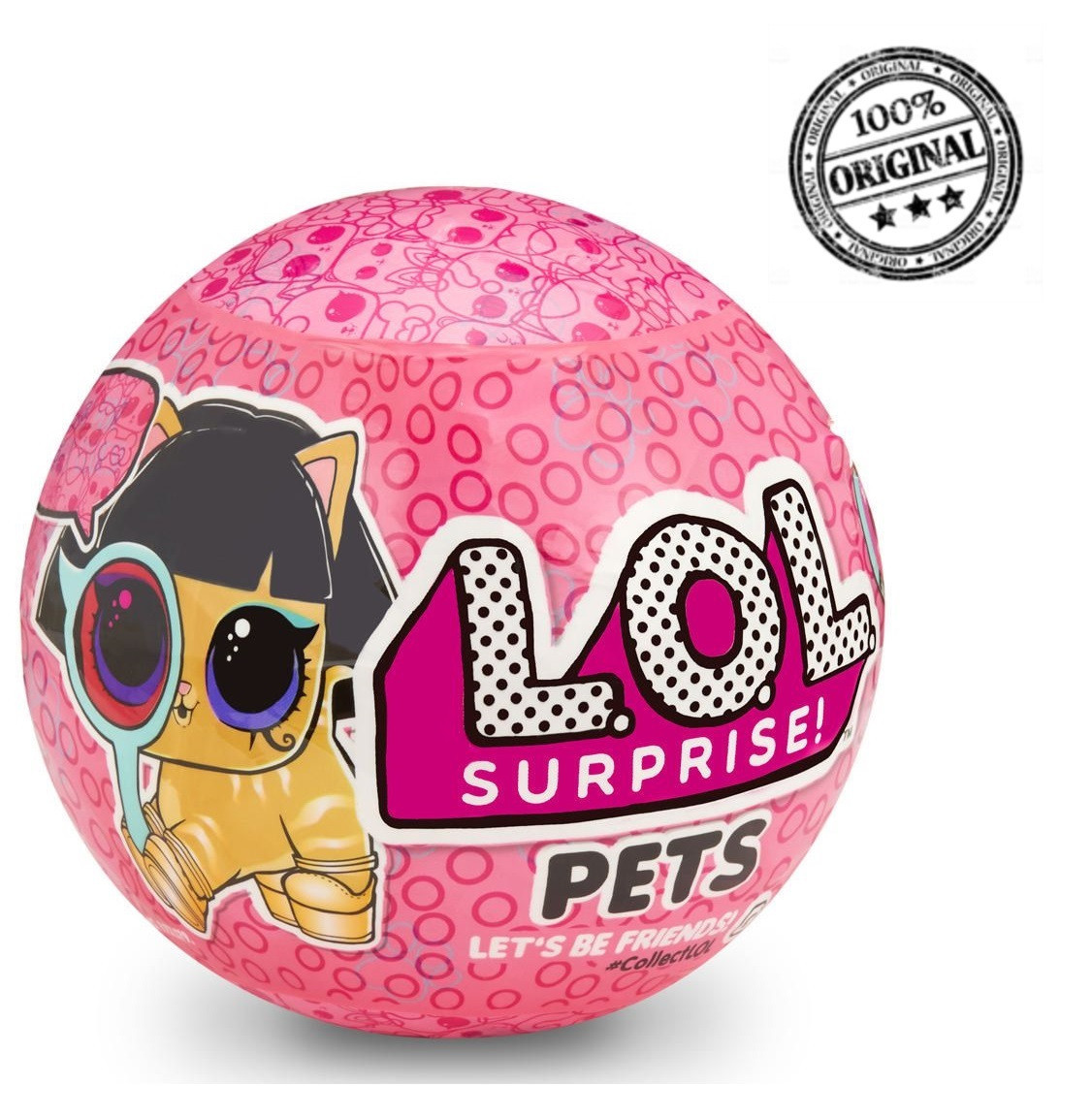 LOL Surprise - Питомец в шарике, Pets, 4 серия, 2 волна, Декодер «Eye Spy» (Оригинал), ЛОЛ Сюрприз