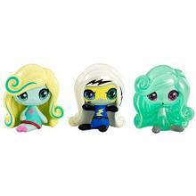 """Monster High """"Minis"""" Набор из 3 минифигурок №1"""