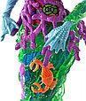 Monster High «Страшный Барьерный Риф» Кукла Поси Риф, Монстер хай, фото 3