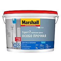 Матовая водно-дисперсионная (латексная) краска для стен и потолков Marshall Export 7