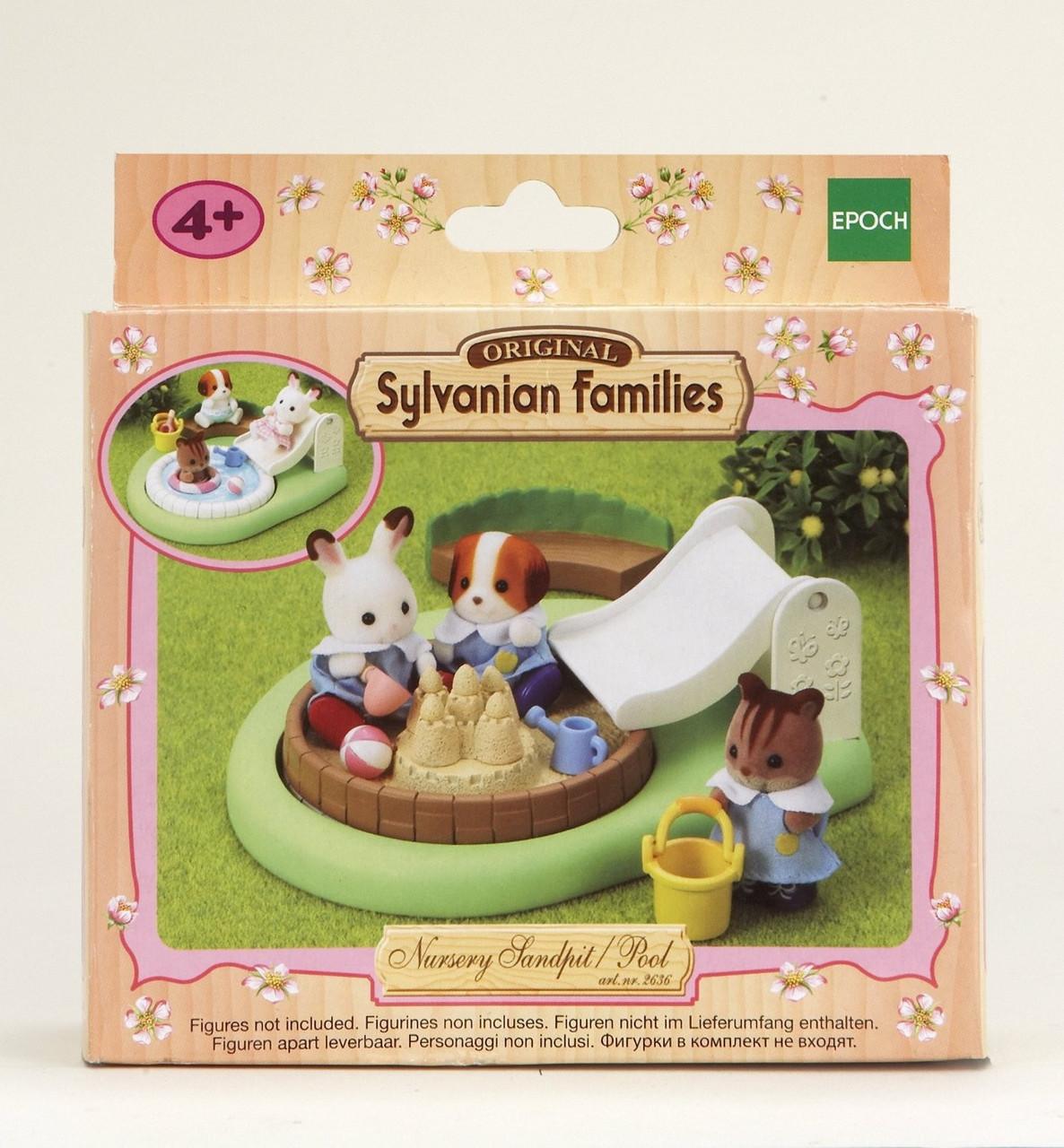 Sylvanian Families Набор Песочница для малышей