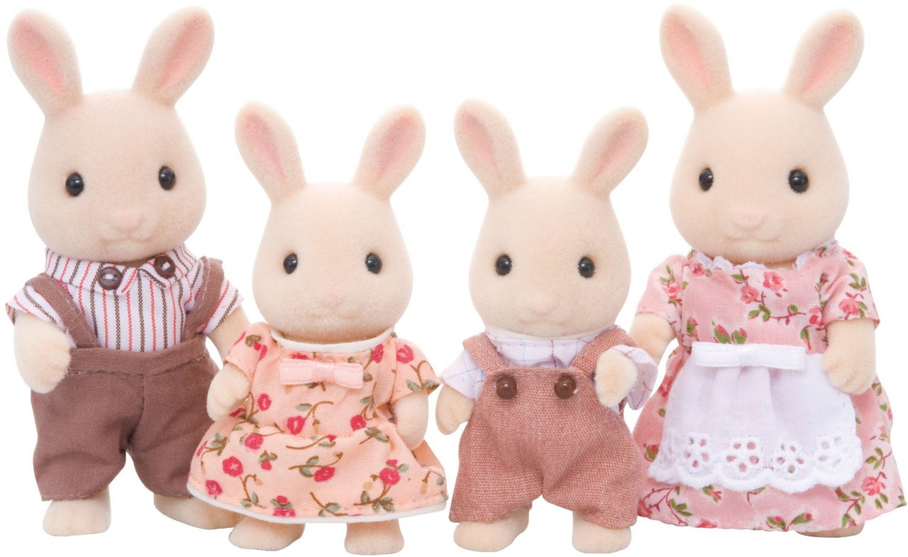 Sylvanian Families Семья молочного кролика
