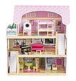 """Игровой набор """"Деревянный дом для кукол"""" с мебелью, 62,5*31*70 см, фото 2"""