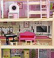 """Игровой набор """"Деревянный дом для кукол"""" с мебелью, 62,5*31*70 см, фото 3"""
