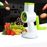 Овощерезка  мультирезка 4 в 1 терка ручная  для овощей и фруктов, фото 3
