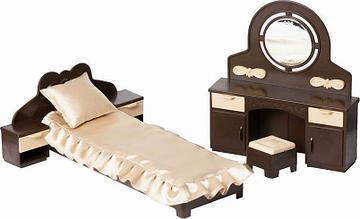 """Огонёк Кукольная мебель для спальни """"Коллекция"""""""