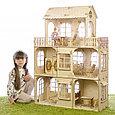 """Теремок Сборная деревянная модель """"Большой кукольный домик"""", фото 2"""