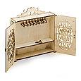 """Теремок Сборная деревянная модель мебели для кукол 30 см. """"Шкаф"""", фото 3"""