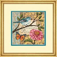 70-65103 Набор для вышивки крестом «Птичья почта»