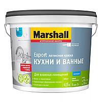 Матовая водно-дисперсионная (латексная) краска Marshall Кухни и Ванные