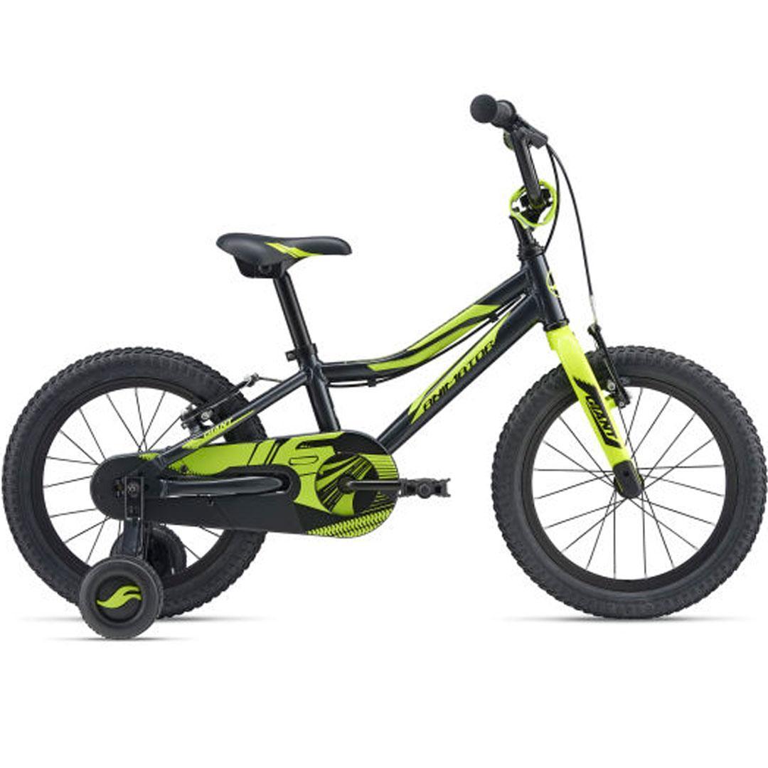Детский велосипед Giant Animator 16 - 50 gun metal black (2019)