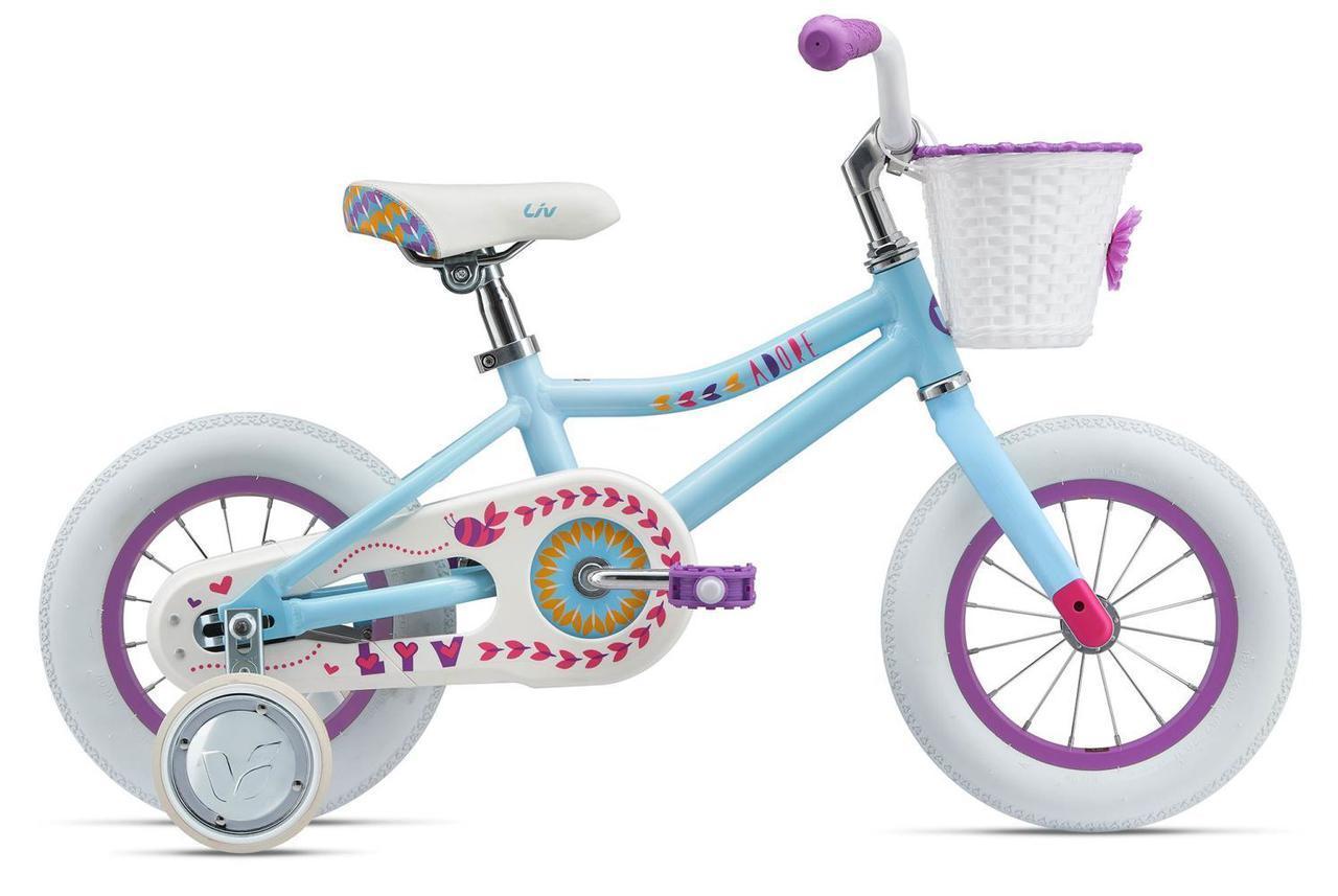 Детский велосипед Giant Liv Adore 12 - Светло-синий