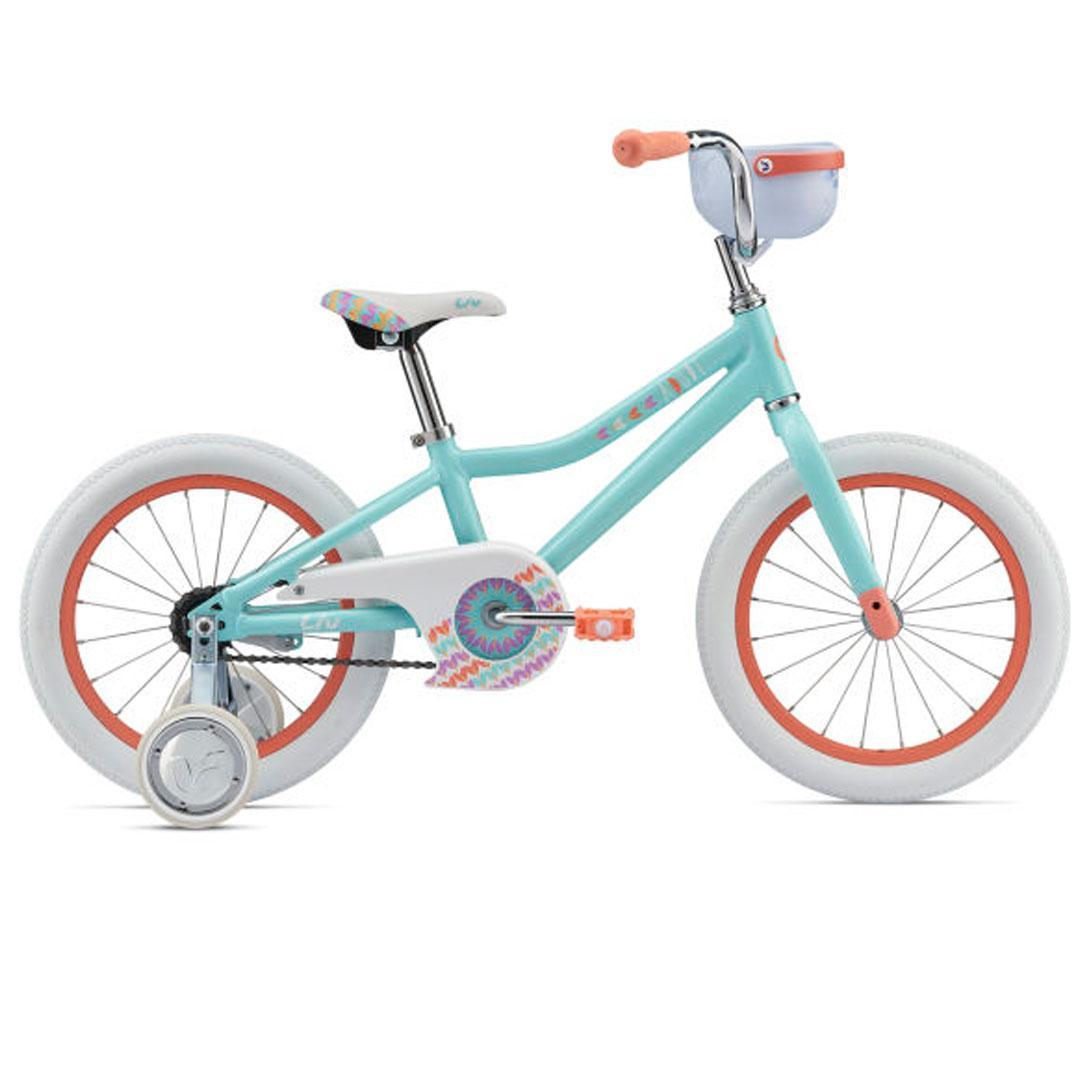Детский велосипед Giant Liv Adore 16 - светло-синий