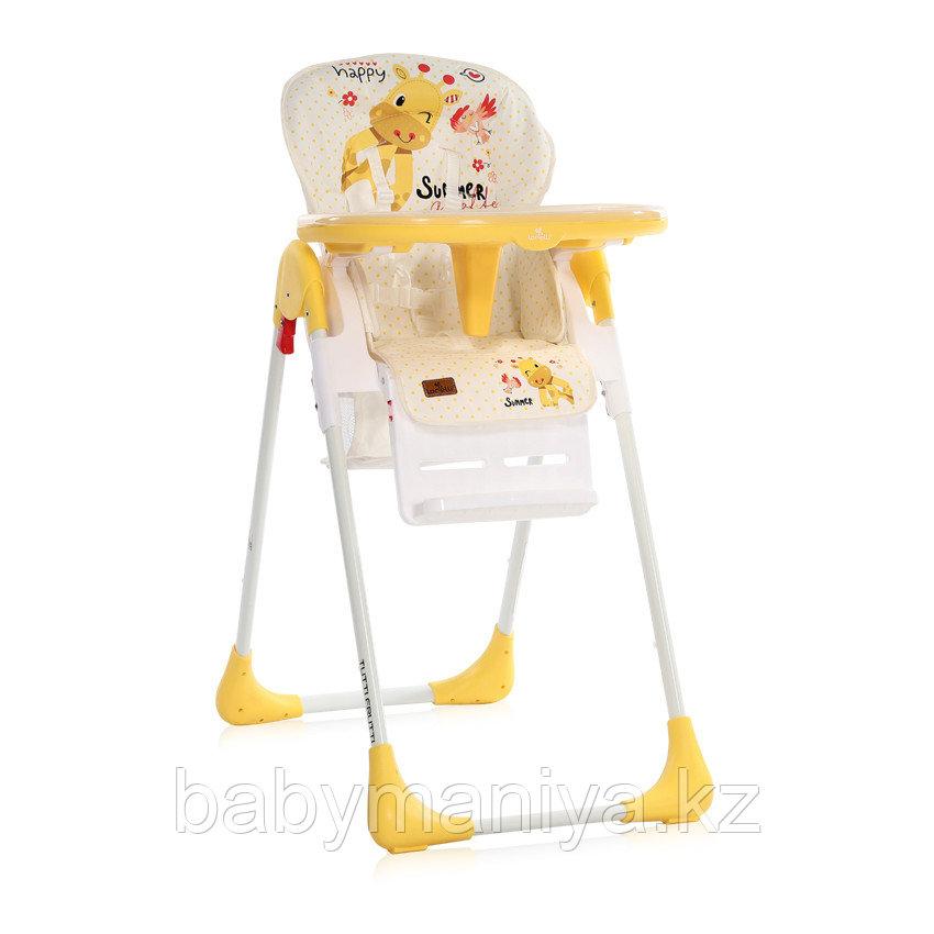 Стульчик для кормления Lorelli CRYSPI Желтый / Yellow GIRAFFE 2035