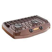 Плитка газовая GEFEST ПГ-700-02 (двухконфорочная), коричневая