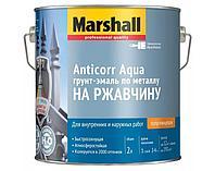 Полуглянцевая грунт-эмаль по металлу на водной основе «3 в 1 Anticorr Aqua 2л
