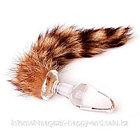 Анальная пробка с хвостиком «Fox», фото 3