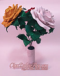 Букетик роз из  глиттерного фоамирана.  Creativ 2461, фото 2