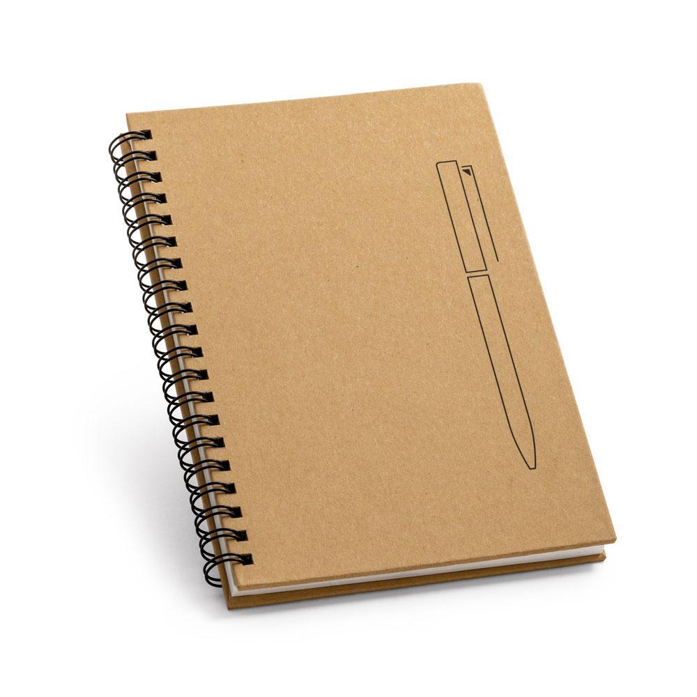 Блокнот из картона с магнитом для ручки, ROCK