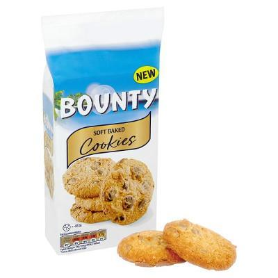 Печенье Bounty Soft Baked Cookies кукис 180гр (8шт-упак)