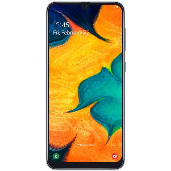 Смартфон Samsung Galaxy A30 White (SM-A305FZWUSKZ)
