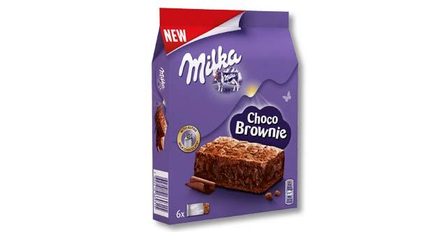 Бисквит Milka Choco Brownie 150гр (13шт-упак)
