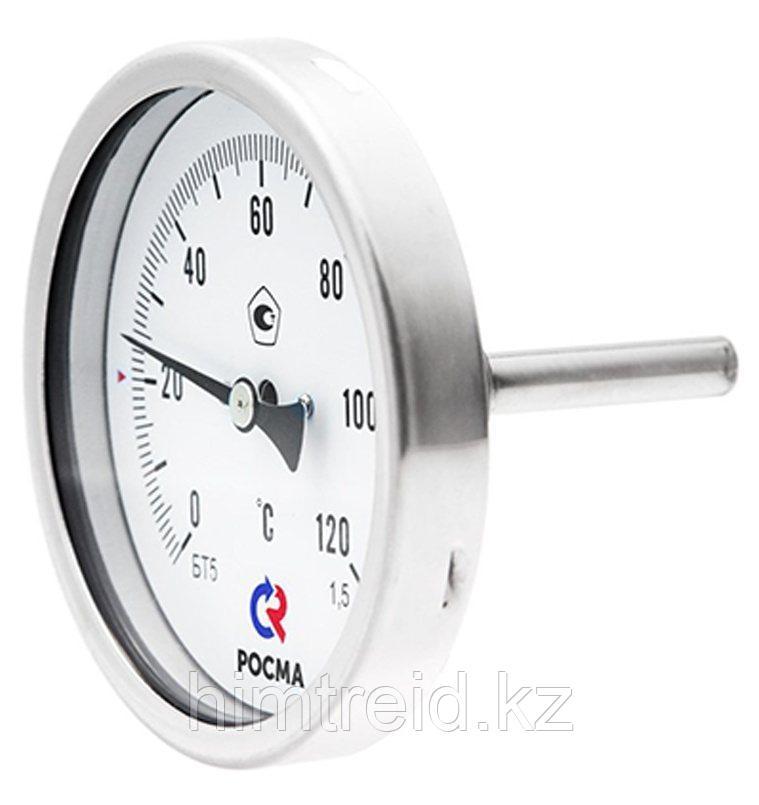 Термометры Росма Тип БТ, серия 220, БТ-51.220, БТ-71.220 Термометры коррозионностойкие (осевое присоединение)