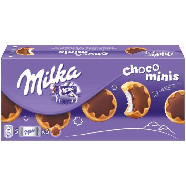 Marwin Печенье Milka Choco Minis 150 гр (16шт-упак)