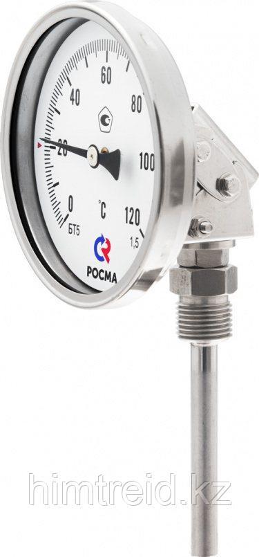 Термометры Росма Тип БТ, серия 220 БТ-44.220,БТ-54.220,БТ-74.220 Термометры коррозионностойкие (универсальное
