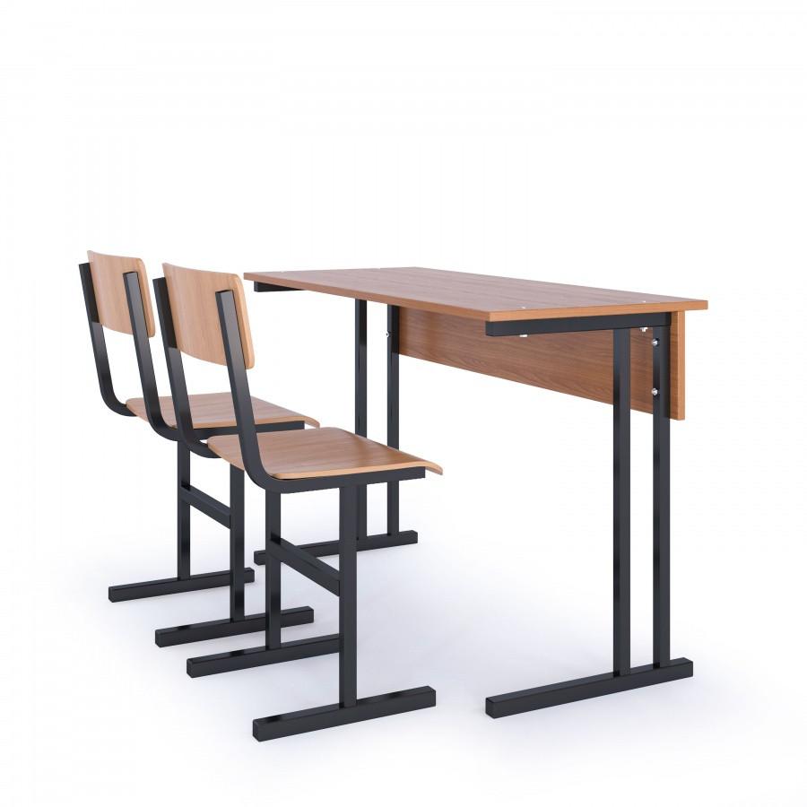 Парта школьная 2-х местная + 2 стула